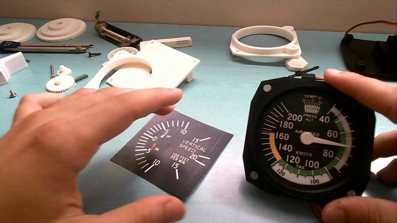 Instrumentos para cabina de vuelo: mejorando el diseño