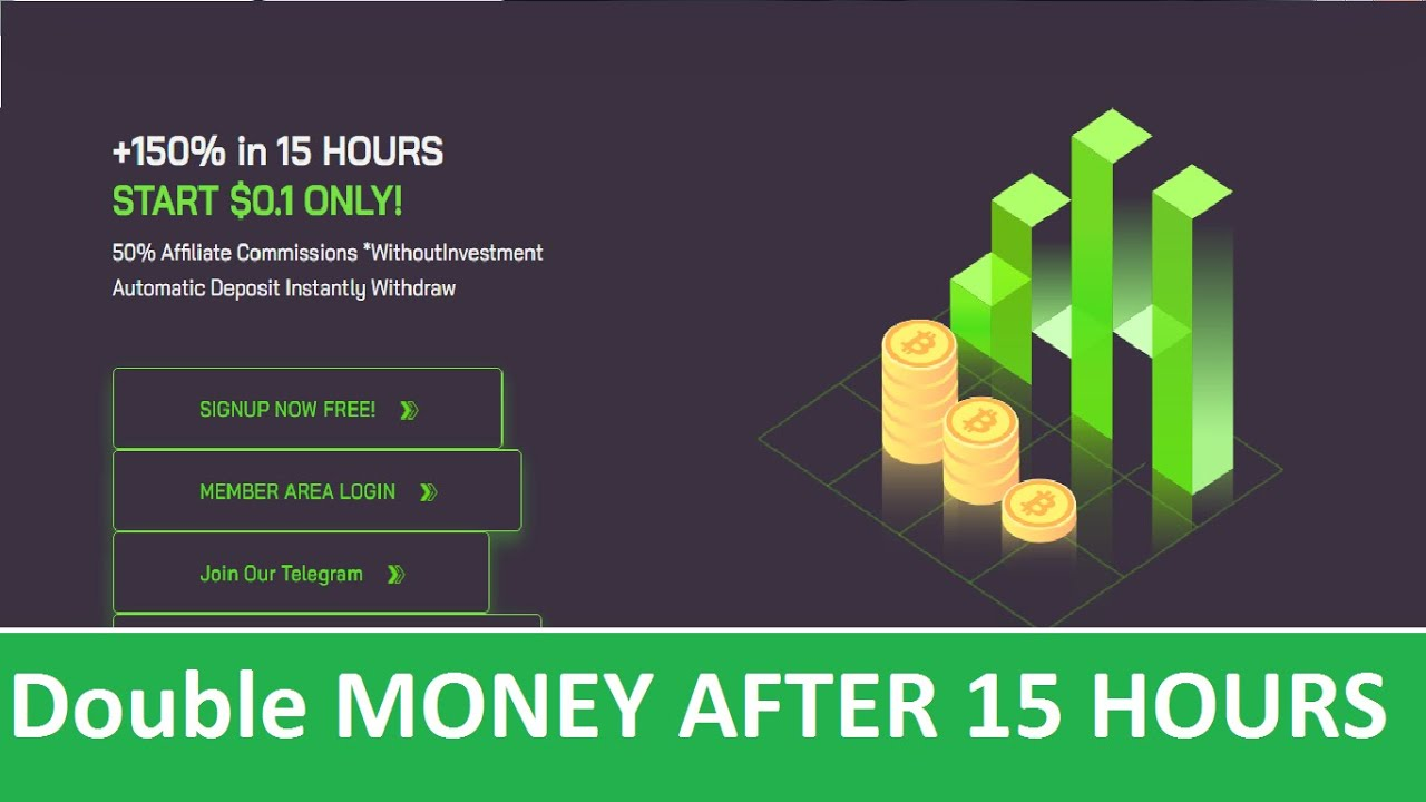 Profit Hans - Double Your Money AFTER 15 Hours - Invest 1$ & Earn 1.5$ IN 15 HOURS  - Min: 0.10$