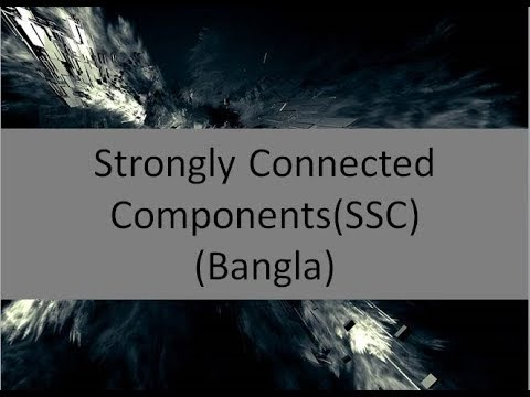 Strongly Connected components in Bangla|| SCC || Algorithms