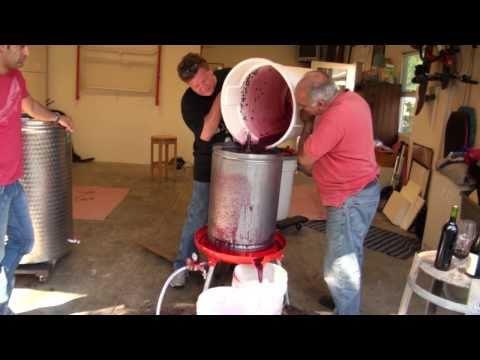 Winemaking in California Wine Country