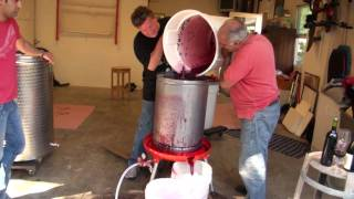 Winemaking in California Wine Country