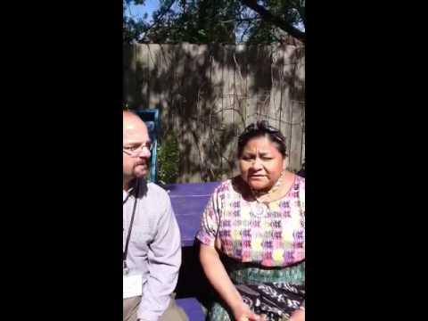 Interview with Rigoberta Menchu Tum 2012