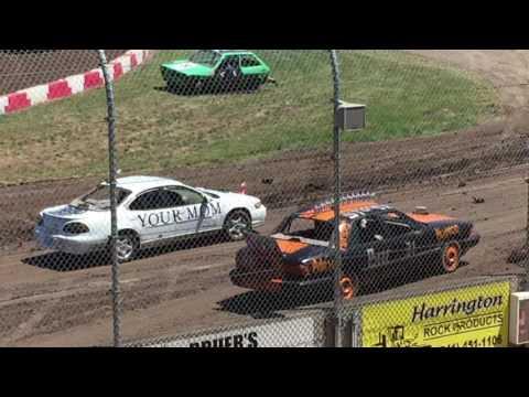 Trash Cars Willamette Speedway 2017 #2