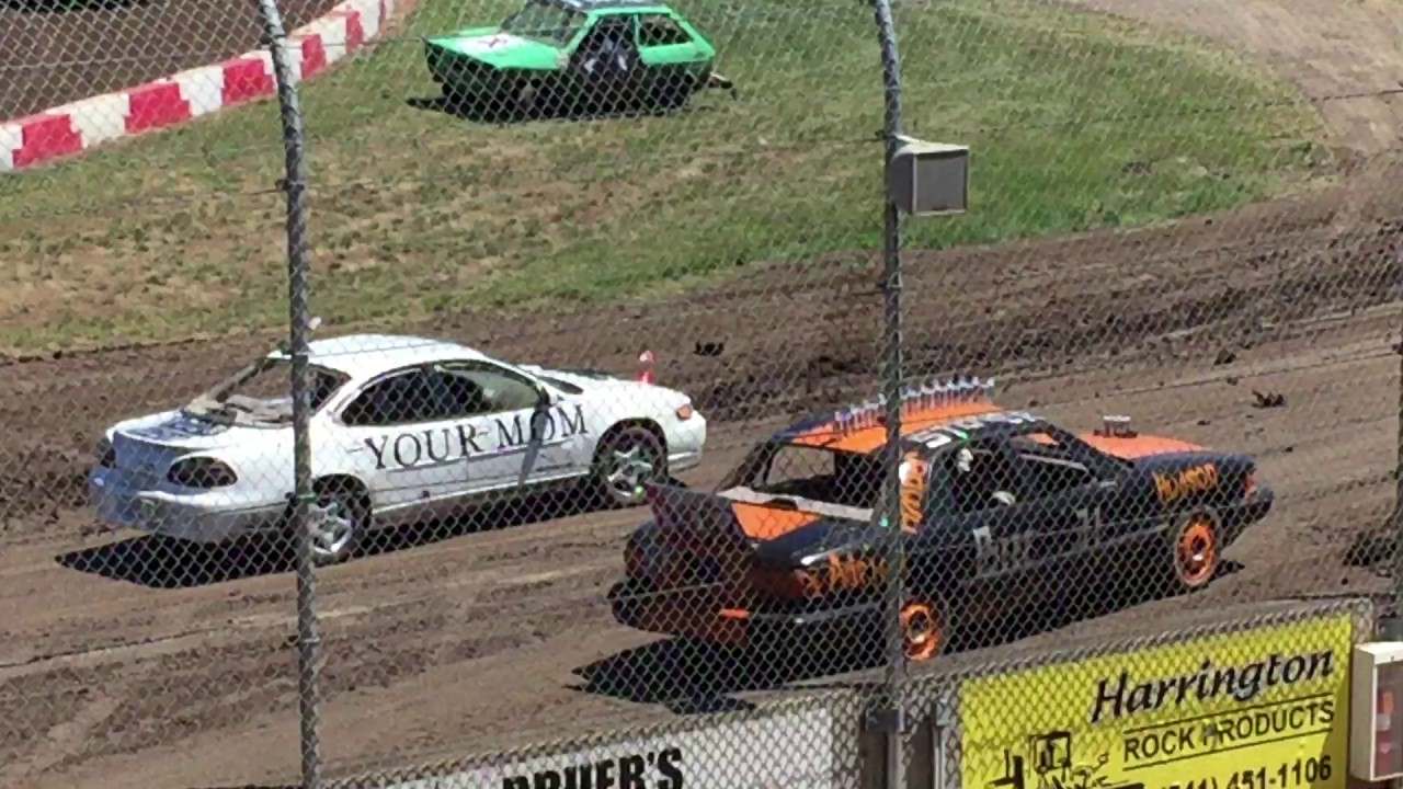 Trash Cars Willamette Speedway 2017 #2 - YouTube