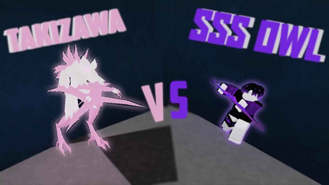 Roblox | Takizawa VS SSS Owl Ro Ghoul !!