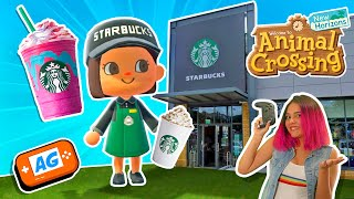 COMO Construir 1 STARBUCKS en Animal Crossing NEW Horizons 🍦🍦 |  Animal Crossing Español