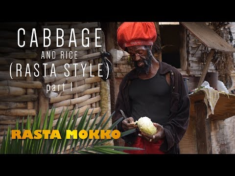 Cabbage & Rice (Rasta Style) part 1
