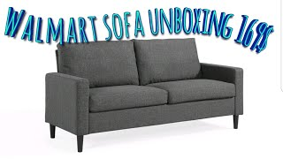walmart couch unboxing and review