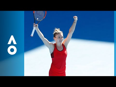 Simona Halep v Karolina Pliskova match highlights (QF) | Australian Open 2018
