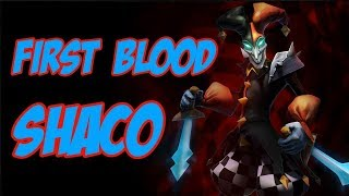 first blood shaco mid.