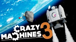 Crazy Machines 3 - Taking A Unicorn To Space! - Pool Trick Shots - Crazy Machines 3 Gameplay