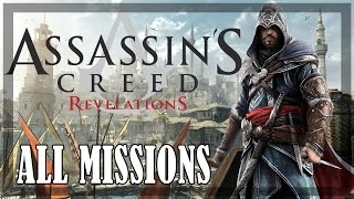 Assassin's Creed Revelations - All Missions 100% Sync