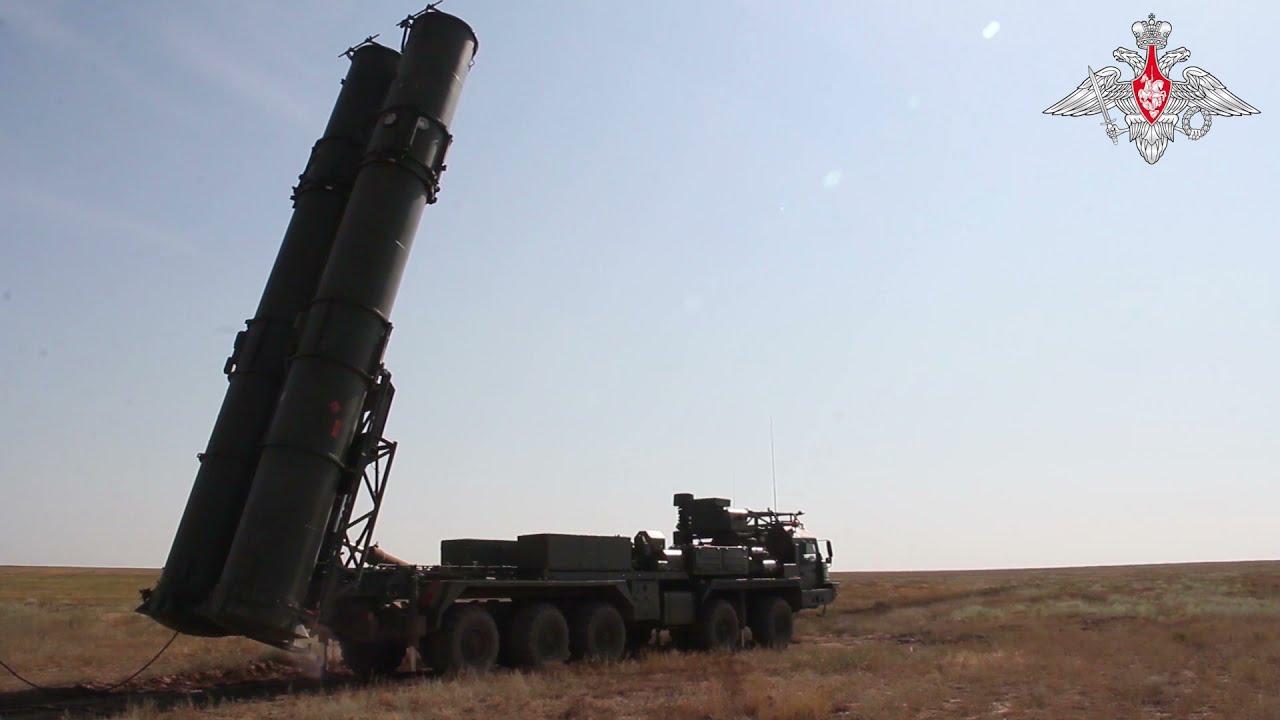 На полигоне Капустин Яр испытали ЗРС С-500 «Прометей»