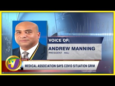 Grim Covid-19 Outlook amid the Shortage of Oxygen in Jamaica   TVJ News - August 29 2021