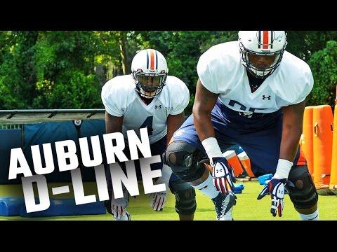 Auburn defensive line at practice: Aug. 7, 2016