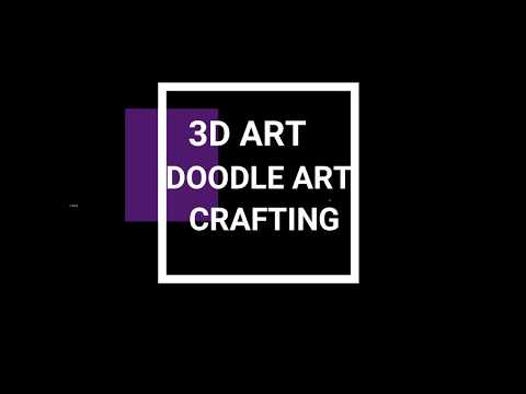 Introductory Video | Artist |  Calligraphy,Painting,3D art.