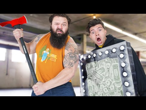 World's STRONGEST Man vs Unbreakable Box!