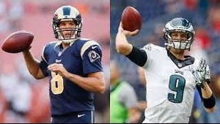 Eagles trade Nick Foles to Rams for Sam Bradford
