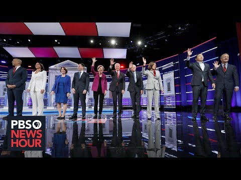 PBS NewsHour: 2020 Democrats compete over transparency as next debate approaches