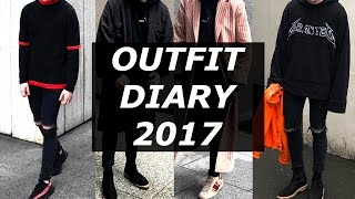 Outfit Diary | Mens London Fashion Week 2017 | Lookbook | LFWM | Gallucks