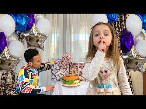 День рождения Настя ЗАБЫЛА про самые крутые ПОДАРКИ для Саши Влог