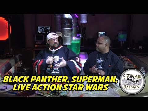 BLACK PANTHER, SUPERMAN, LIVE ACTION STAR WARS