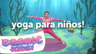El Pez Squish | ¡Una Aventura de Cosmic Kids Yoga!