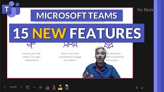 Top 15 NEW features in Microsoft Teams [Summer 2021] Includes Desktop, Web, Mac and Mobile
