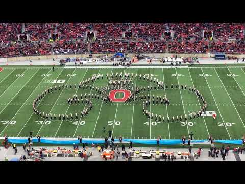 Full Ohio State Marching Band halftime show vs. Penn State