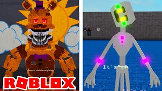 NEW Nightmare Fredbear and Glitch Puppet in Roblox FNAFVerse