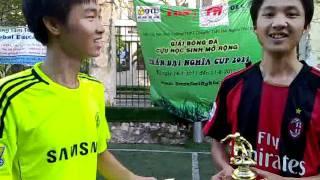 Họp báo phỏng vấn vua phá lưới Trần Đại Nghĩa Cup 2011