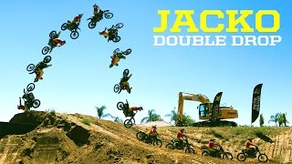 "Jackson ""Jacko"" Strong pulls first ever double drop off..."