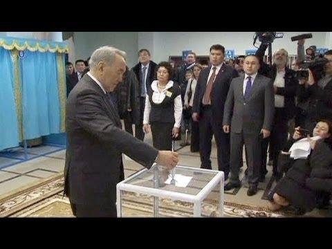 Observers slam 'undemocratic' Kazakh election