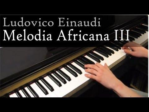 Ludovico Einaudi - Melodia Africana III - Piano mp3