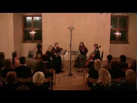 Ralph Vaughan Williams, String quartet in C minor, 1. Allegro