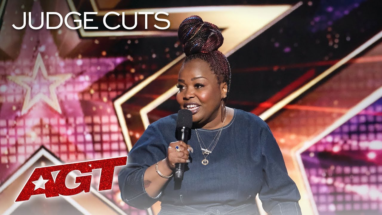 Comedian Jackie Fabulous Delivers HILARIOUS And Relatable Jokes - America's Got Talent 2019
