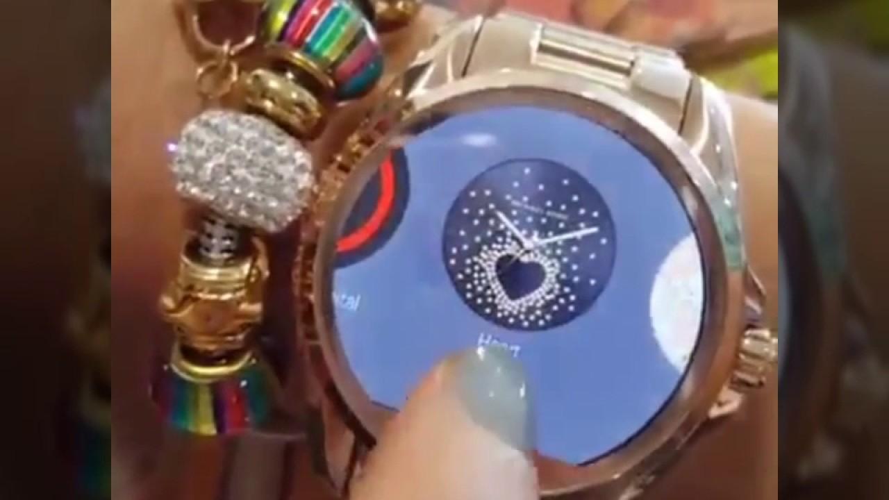 Reloj Touch Michael Kors Youtube