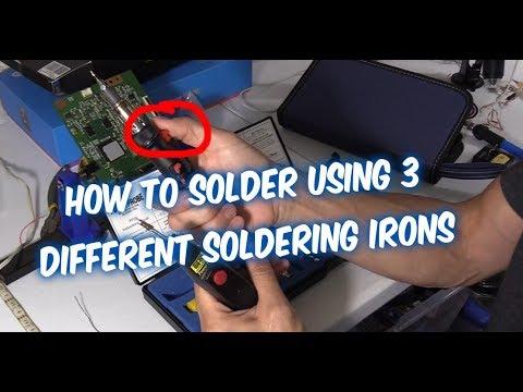 3 Must Have Soldering irons- Iso-tip pro vs Butane Power Probe vs Tekworthy  Solder iron kit