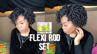 REVIEW On Deva Curl Super Stretch Coconut Curl Elongator On 3c4a Hair Type | Flexi Rod|
