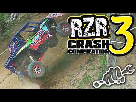 RZR CRASH COMPILATION 3