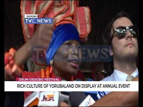 Rich culture of Yorubaland on display at annual Osun Osogbo festival