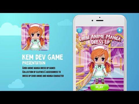 Chibi anime manga dress up games