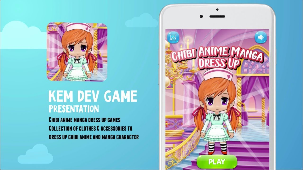 Chibi DressUp Game - Play online at Y8.com