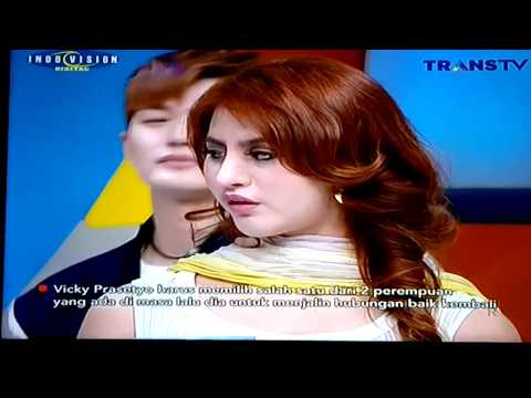 Cisca Martinez Shooting Pagi Pagi Pasti Happy Trans TV (Talent By Inter Model ) Part 1