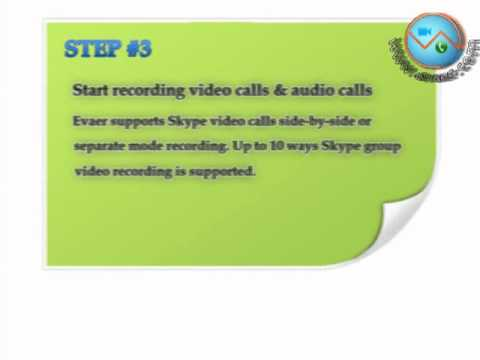 How to record Skype video calls with Evaer video recorder - YouTube