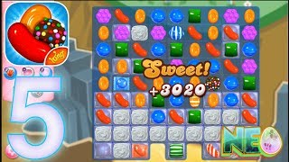 Candy Crush Saga: Gameplay Walkthrough Part 5 - LEVEL 21 - 22 COMPLETED (iOS, Android)