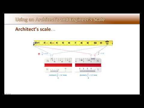 Architect & Engineer Scale - Unit 3