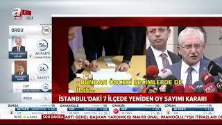 İstanbul'da oyların yeniden sayılacağı ilçe sayısı 17 oldu!