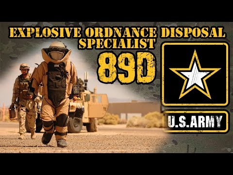 89D Explosive Ordnance Disposal Specialist