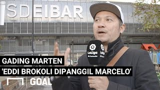 Pengalaman Gading Marten Nonton Langsung Laga Eibar vs Real Madrid